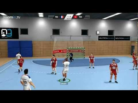 Ihf Handball Challenge 12 - Gameplay Highlights (full Hd 1080p) video