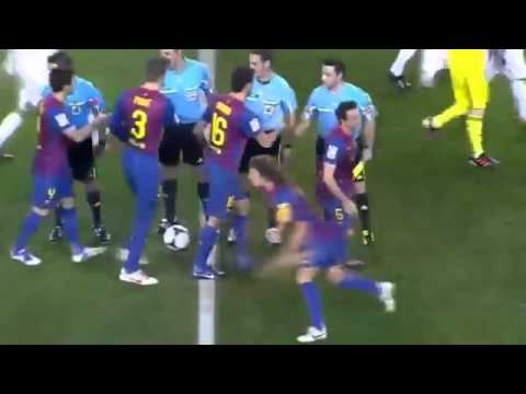 Barcelone VS Real Madrid  2-2   25/01/12