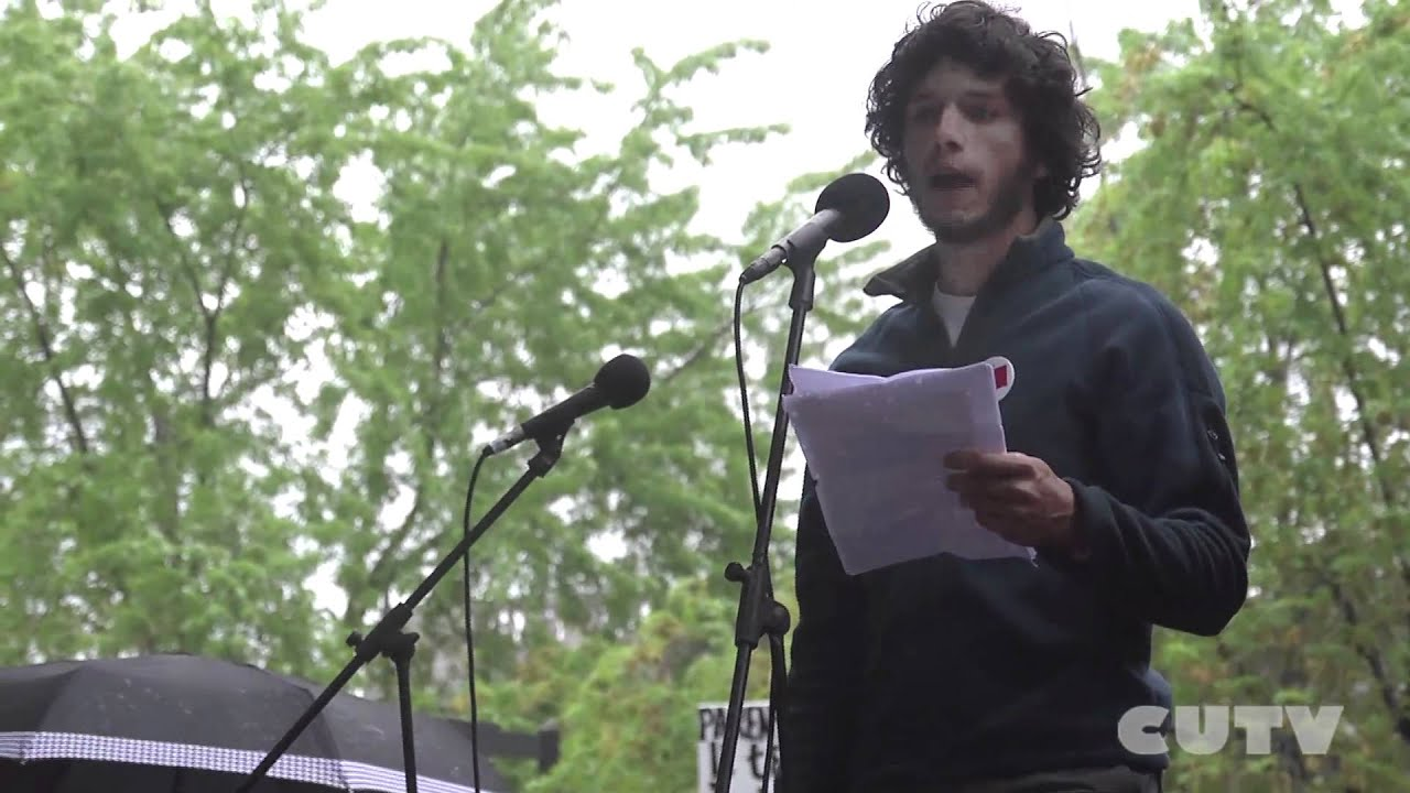 CUTV news covers May 22nd demonstration