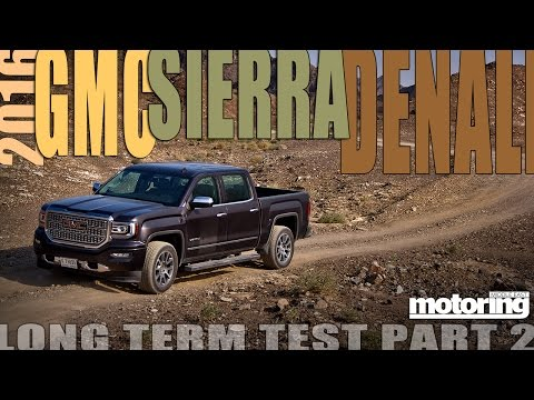 2016 GMC Sierra Denali pickup long term test vlog pt 2