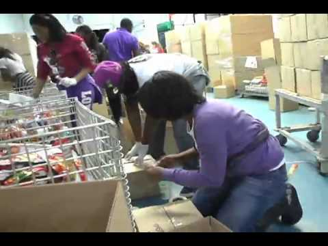 """Change The Community"" at the Capital Area Food Bank"