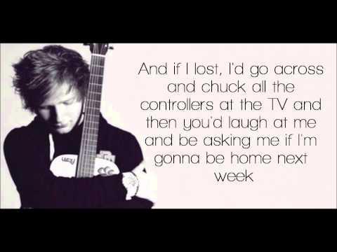 Wake Me Up - Ed Sheeran Lyrics