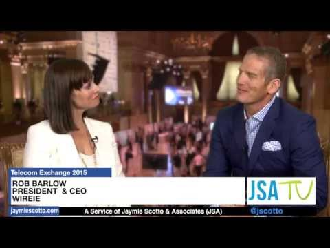 WireIE's CEO & President talks with JSA TV at Telecom Exchange 2015