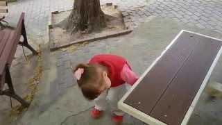 Funny Baby and Cat Video 2016