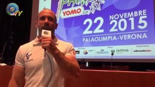 Verona - Presentazione Grand Prix Yomo - Cup 2015