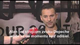 Dave Gahan interview for slovakian TV JOJ