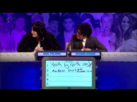 The Big Fat Quiz of the Year (2013) discussing Robin Thicke's