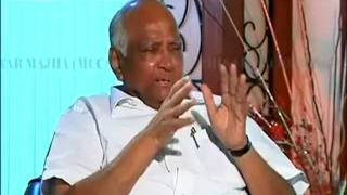 Sharad Pawar -Full Interview on star majha(1.5 hour)