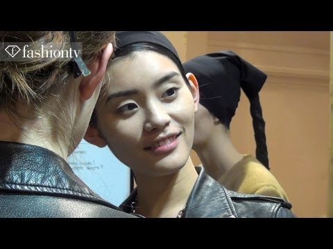 Peachoo+Krejberg Backstage ft Alison Nix and Ros Georgiou | Paris Fashion Week Fall 2012 | FashionTV