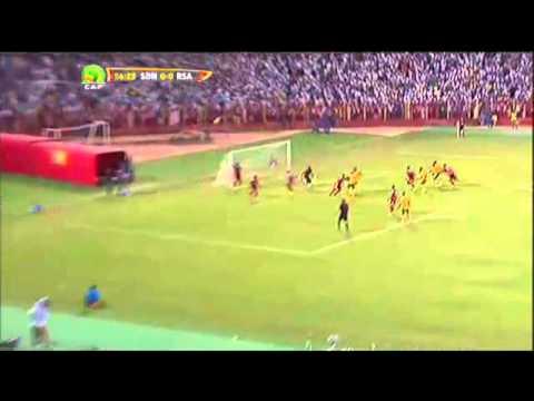 Sudan 0 - 3 South Africa (Bafana Bafana)