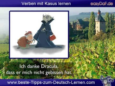 Deutsch lernen - Verb und Kasus