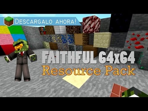 Minecraft   REVIEW FAITHFUL 64X64 [Descarga] 32x32 (1.7.2)