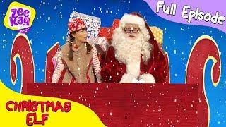 Let's Play: Christmas Elf   FULL EPISODE   ZeeKay Junior