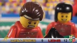 LEGO Rugby - George North tackle v Australia second test