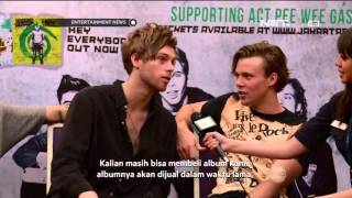 Wawancara Eksklusif Entertainment News dengan 5 Second of Summer (5SOS)