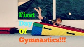 First Day At Gymnastics!! | Vlog 7/7/15