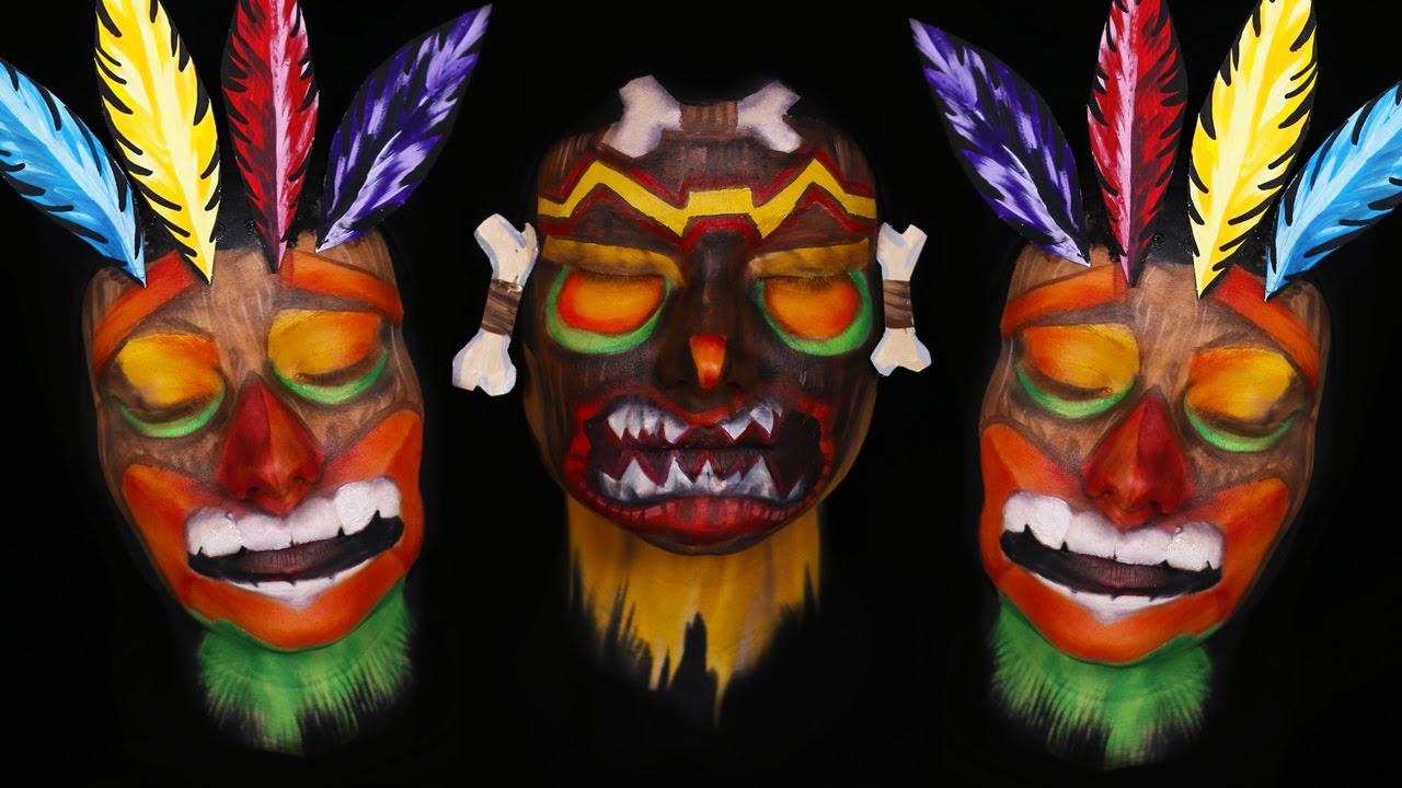 Crash bandicoot makeup tutorial 2 in 1 best of youtube
