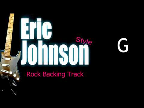 Eric Johnson Rock Guitar Backing Track 150 Bpm Highest Quality