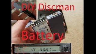 Sony Discman DIY 3D Printed Replacement Lipo Battery