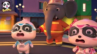 Bayi Panda Lucu   Lagu Pemadam Kebakaran   Lagu Anak-anak   Bahasa Indonesia   BabyBus