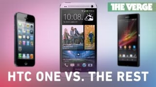 HTC One vs. Nexus 4, iPhone 5, Galaxy S III, and Sony Xperia Z