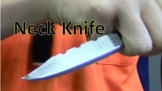 How To Make A Mini Survival Neck Knife, From A File