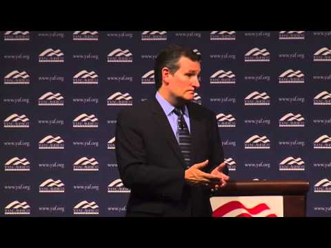 Sen. Ted Cruz at the National Conservative Student Conference