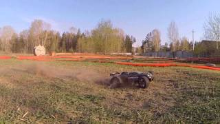 Off-road 1:8, Slow motion!