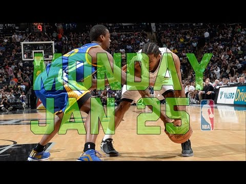 NBA Daily Show: Jan. 25 - The Starters