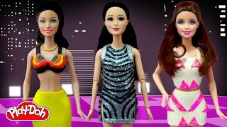 Play Doh Barbie Dolls Costume Jessie J, Ariana Grande, Nicki Minaj -