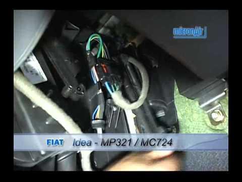 Fiat como trocar o filtro de ar condicionado cabine