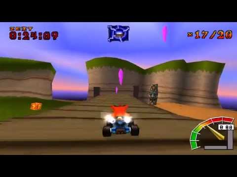 Misc Computer Games - Crash Team Racing - Boss Race