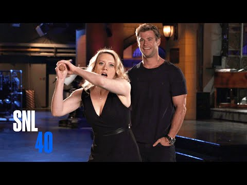 Kate McKinnon Auditions for Chris Hemsworth's Role as Thor