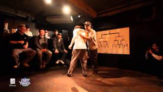 タクミ vs MADOKA(Former Action/ ultimate crew) Semi Final LOOP de DANCE 2013.01.19 |