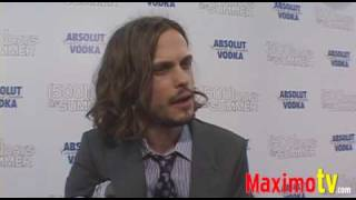 MATTHEW GRAY-GUBLER Interview at 500 DAYS OF SUMMER Premiere