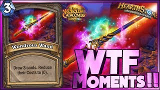 Hearthstone - WTF Moments - Kobolds and Catacombs Funny Rng Moments 5