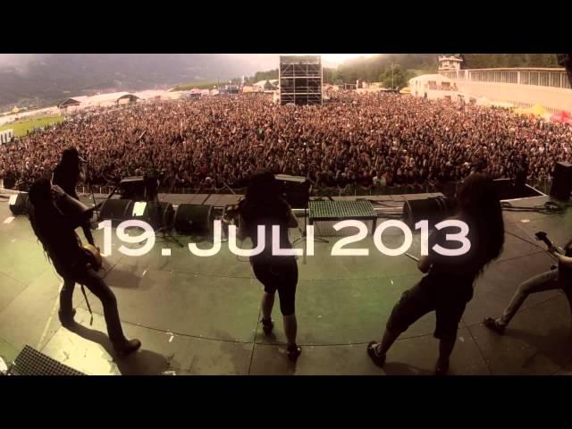 Eluveitie @ Gurten Festival Bern 2013