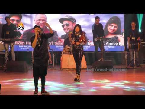 LIVE Performance - Desi Rappers - MD KD ANNEY B From Haryana - Mumbai Bhaidass Hall