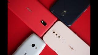 Nokia 4.2, Nokia 3.2, Nokia 1 Plus, and Nokia 210 Hands-On