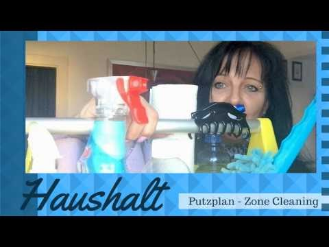 Putzplan - Putzroutine - Zone Cleaning