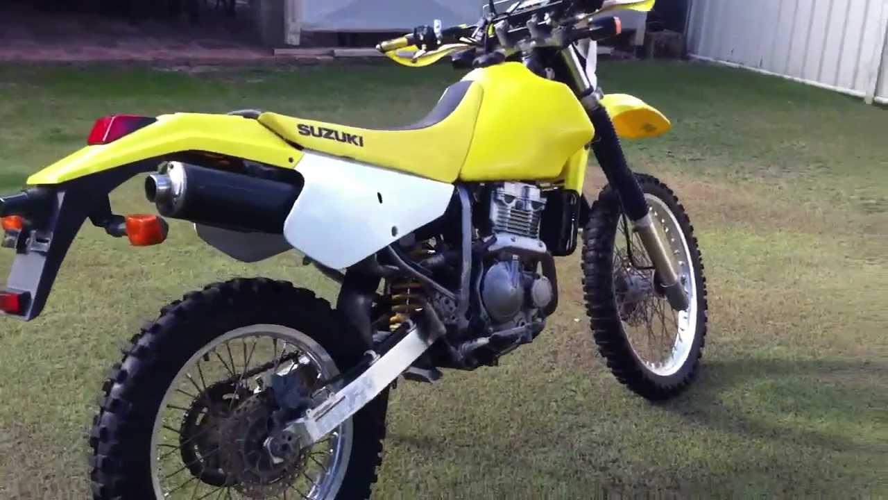 Suzuki Drzs Yellow