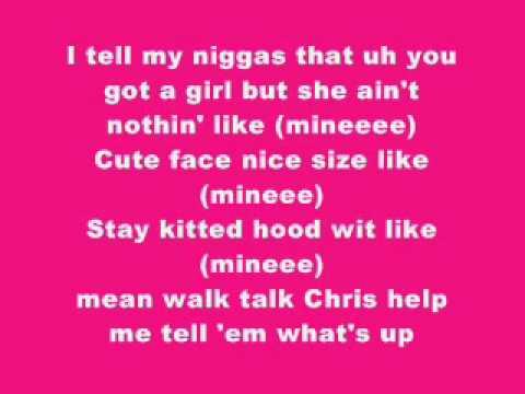 Chris Brown - Gangsta Shorty