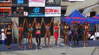 Muscle Beach Fitness Competition Over 40 Finals