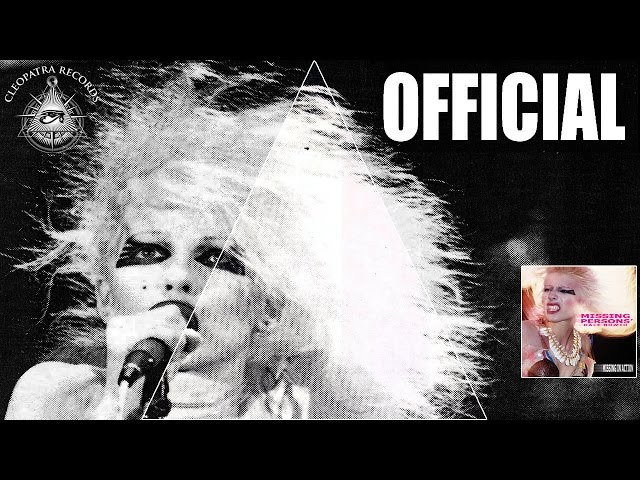 Missing Persons feat. Dale Bozzio - The Speed Of Light (Official Audio Video)