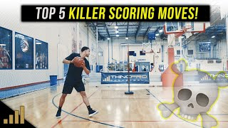 How to: Top 5 KILLER Demar Derozan Basketball Scoring Moves!