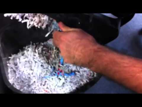 Credit Card + Shredder = Occupy Your Office