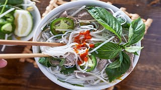 TRADITIONAL PHO RECIPE! Authentic Vietnamese Pho Noodle Soup