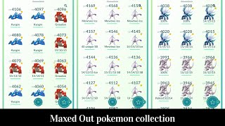 LegacyZelaya's maxed out Pokémon collection
