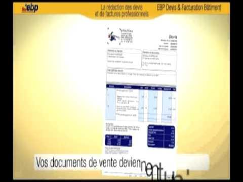 EBP Devis Facturation Batiment - Vidéo de démonstration