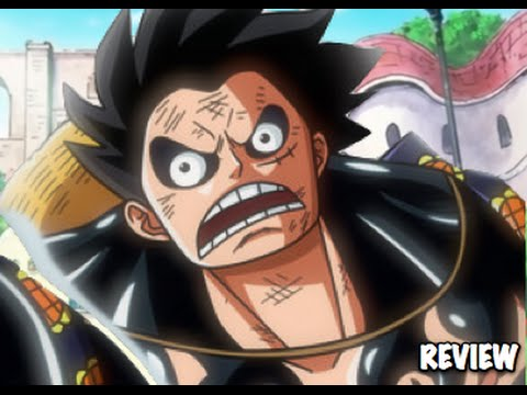 One Piece 784 ワンピース Manga Chapter Review- Luffy's Gear 4th Vs Doflamingo Fight! video